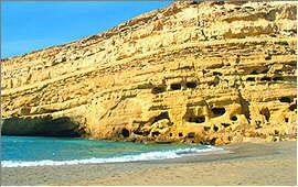 Matala: The Hippies' caves